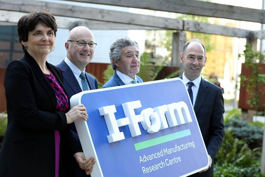 Ministers Humphreys and Halligan launch €22.2 million I-Form SFI Research Centre